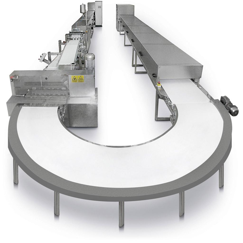 Impianto automatico torrone