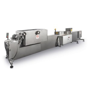 Automatic line for brittle bars