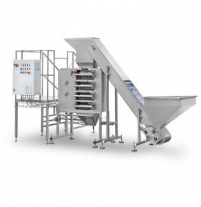 Líneas de producción de granillos y harina