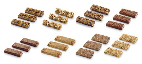 Barres des céréales et énergétiques