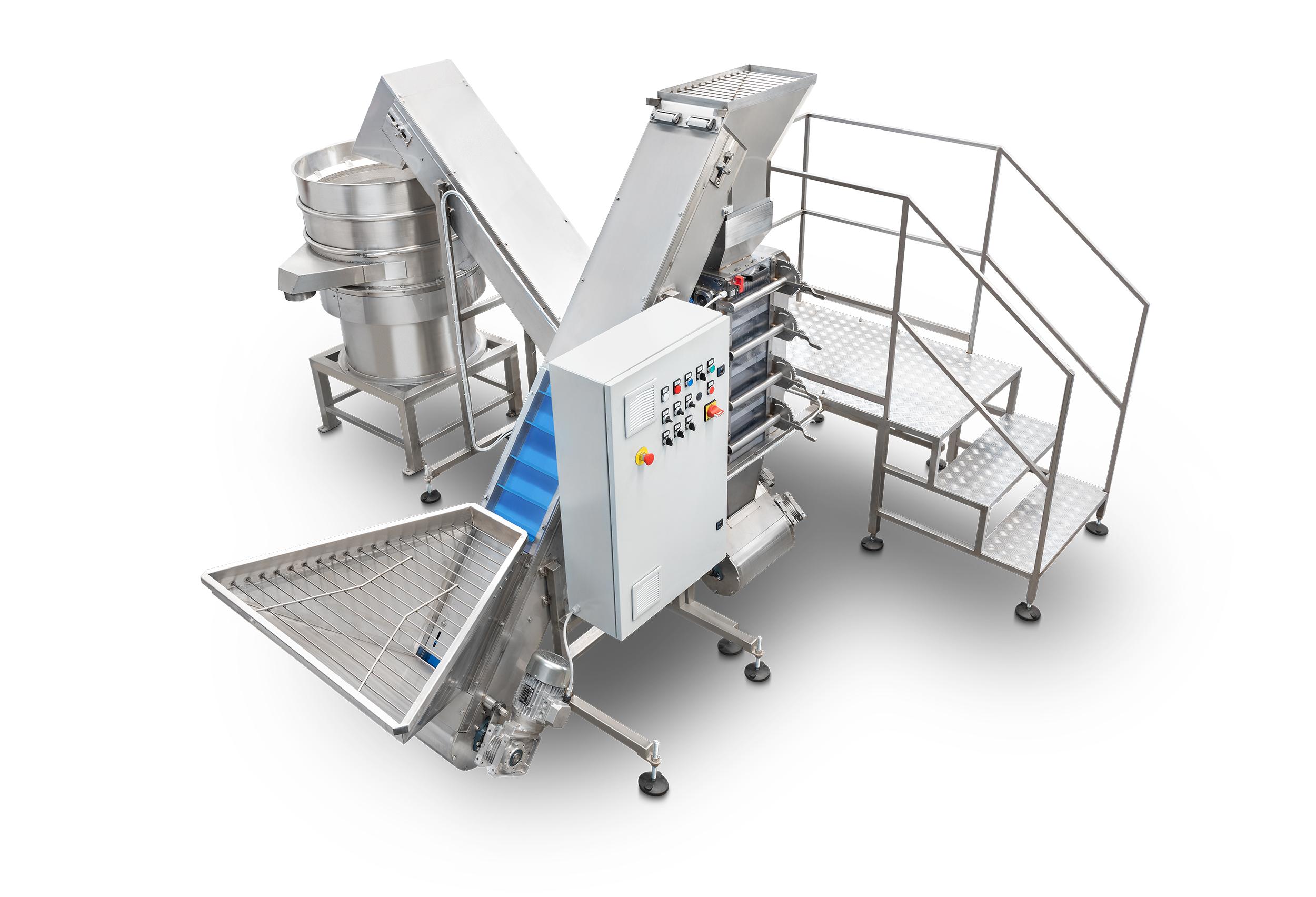 Linea produzione Granella e Farina per Cereali, Frutta Secca, Nocciole e Semi
